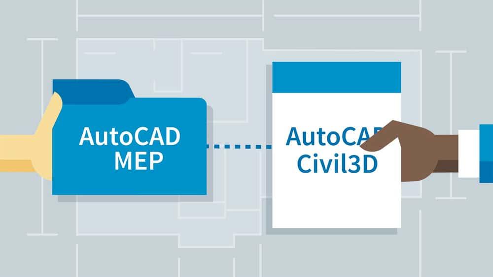 آموزش مدیر BIM: مدیریت اتوکد MEP و اتوکد Civil 3D