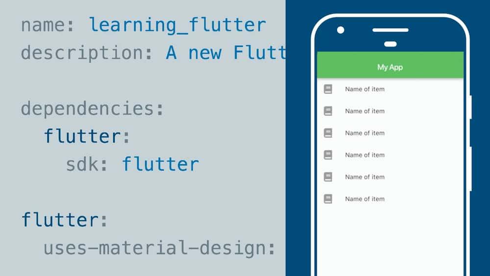 آموزش یادگیری Google Flutter برای توسعه دهندگان موبایل