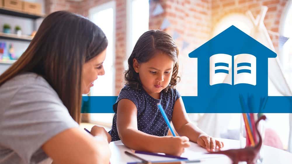 آموزش پشتیبانی از یادگیری کودکان خود در خانه