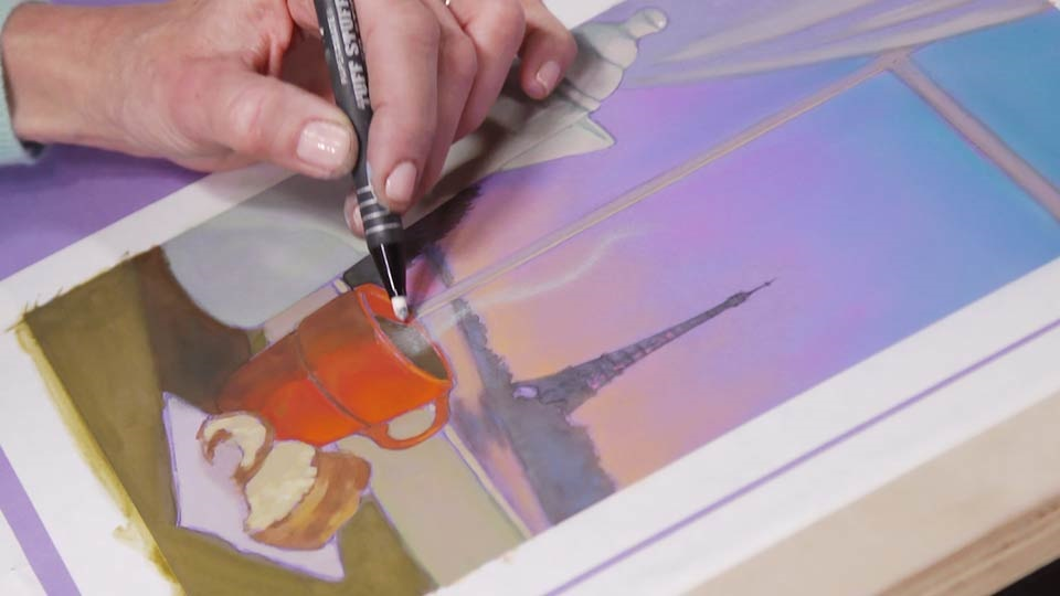 آموزش هنرمند در محل کار: ایجاد عمق میدان