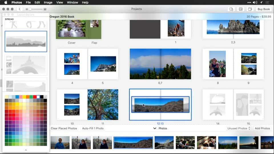 آموزش ایجاد تقویم کارت و کتاب با عکس برای OS X