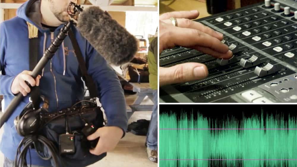 آموزش ایجاد یک فیلم کوتاه: 12 صدا