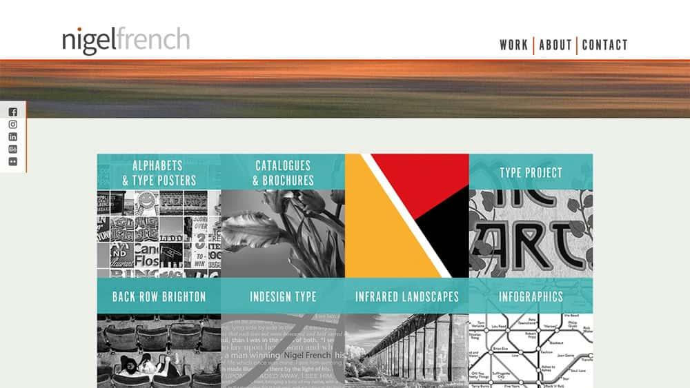 آموزش طراحی وب سایت نمونه کارها با Muse