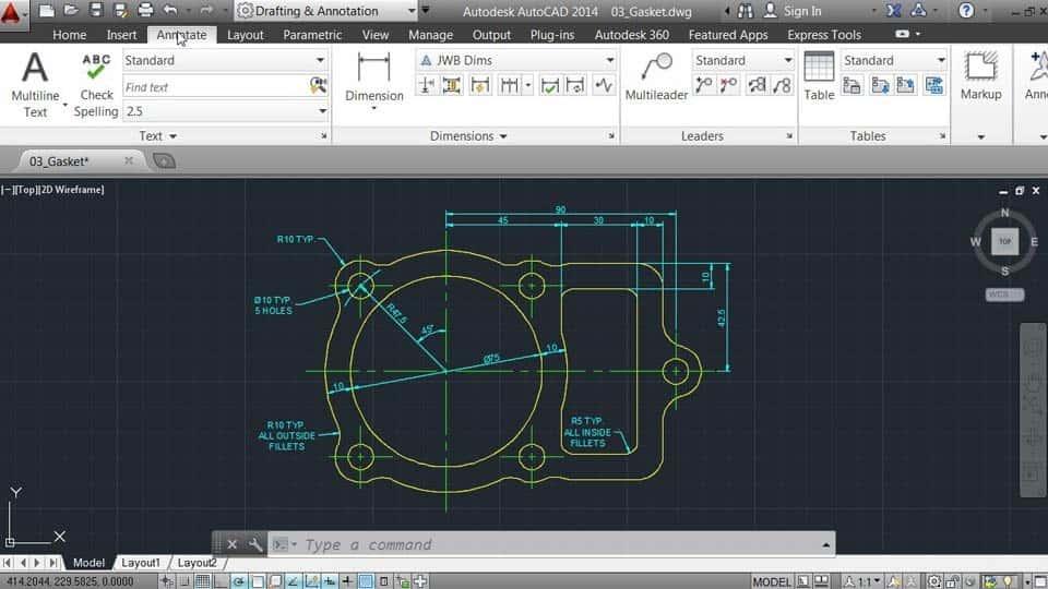 آموزش اتوکد 2014: 1 مدیریت رابط و طراحی