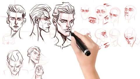 آموزش خلاقیت های طراحی شخصیت های دیجیتال