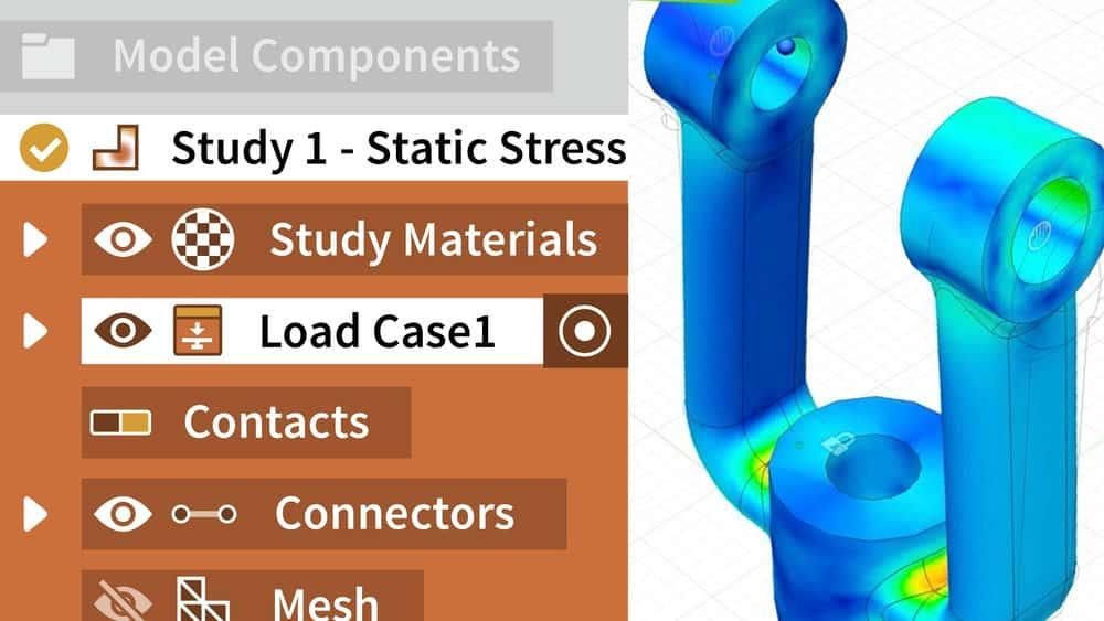 آموزش Fusion 360: شبیه سازی
