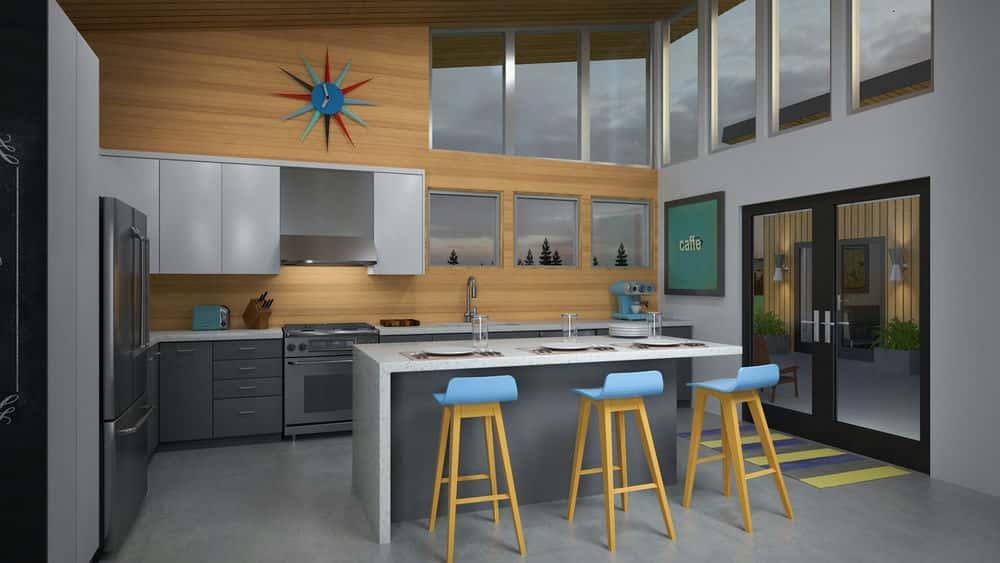 آموزش 3ds Max و V-Ray: مواد داخلی مسکونی