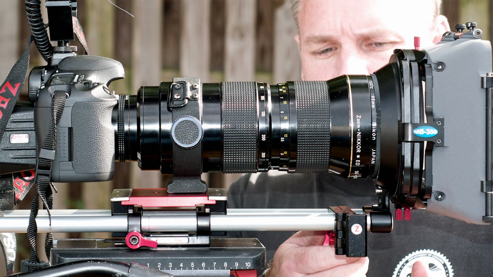 آموزش دنده ویدیویی: دوربین ها و لنزها