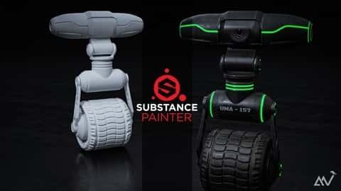 آموزش Substance Painter 2020 - دوره کامل بافت سه بعدی