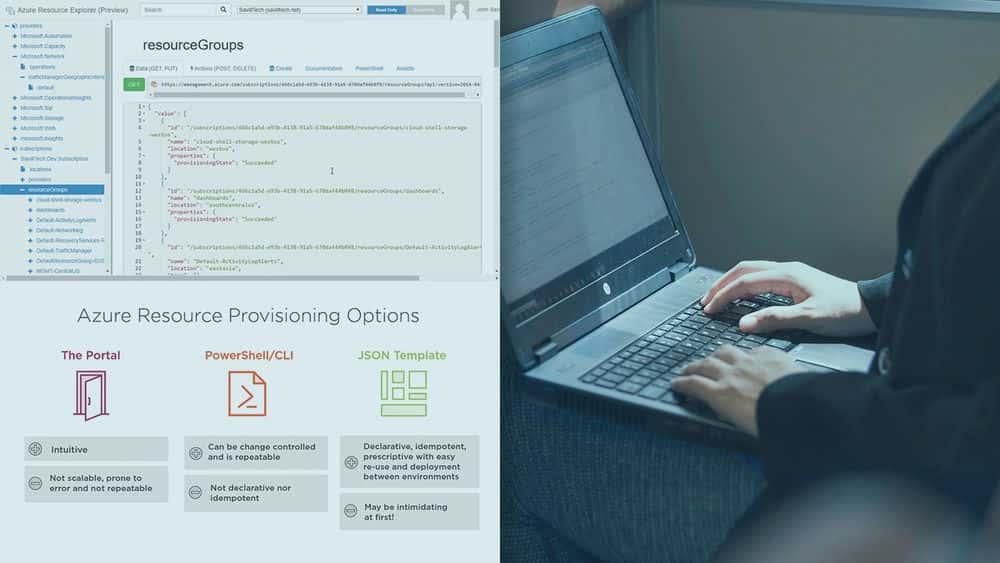 آموزش Microsoft Azure DevOps Engineer: استفاده از الگوهای ARM برای زیرساخت