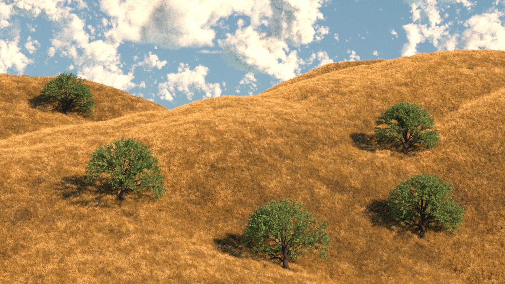 آموزش مایا: محیط های طبیعی