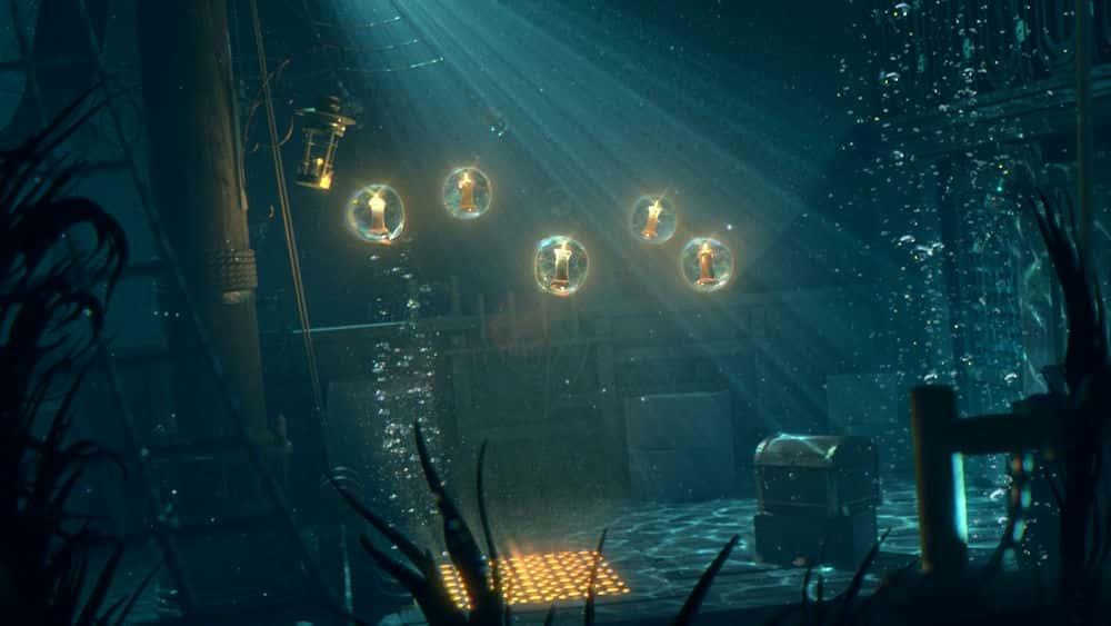 آموزش ایجاد روشنایی زیر آب سینمایی در مایا