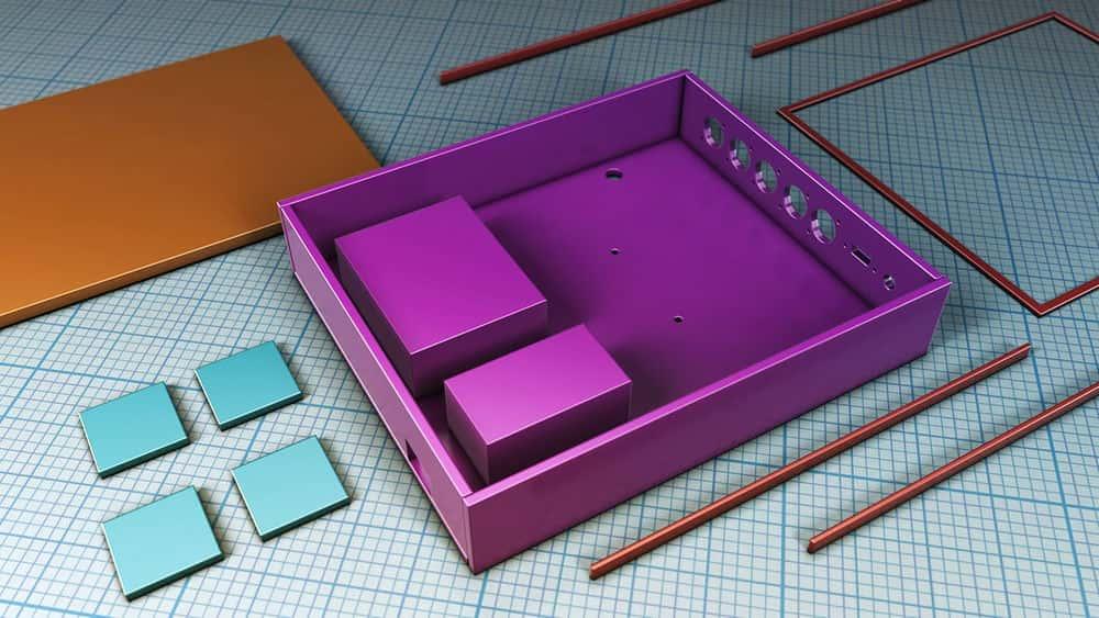 آموزش طراحی برای CNC و برش لیزری در Tinkercad