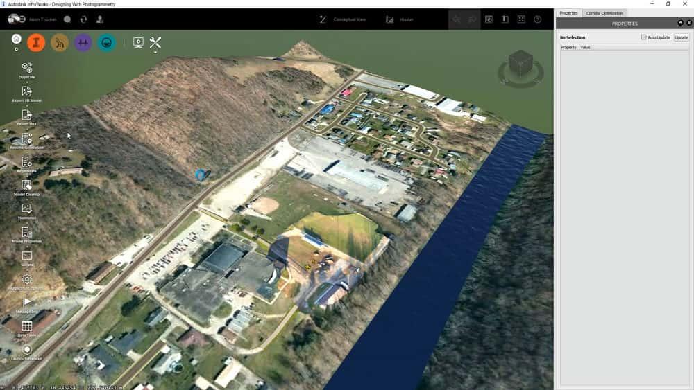 آموزش طراحی با داده های فوتوگرامتری در Civil 3D و InfraWorks 360