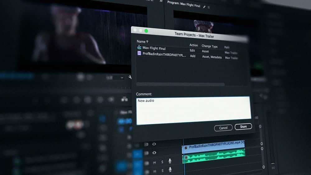 آموزش پروژه های After Effects و Premiere Pro CC Team