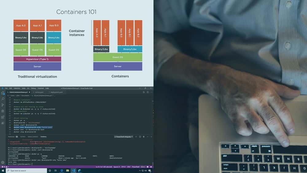 آموزش استقرار کانتینرهای SQL Server در Microsoft Azure
