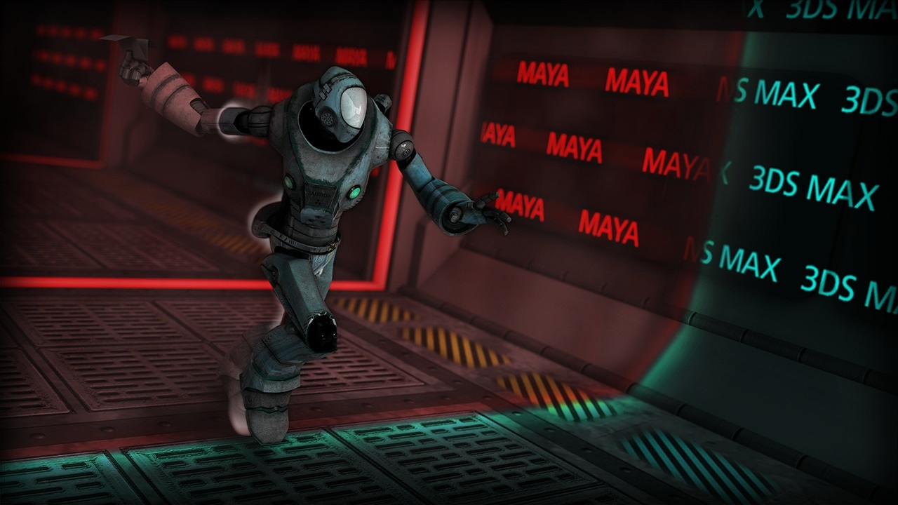 آموزش انتقال انیمیشن بین مایا و 3ds Max