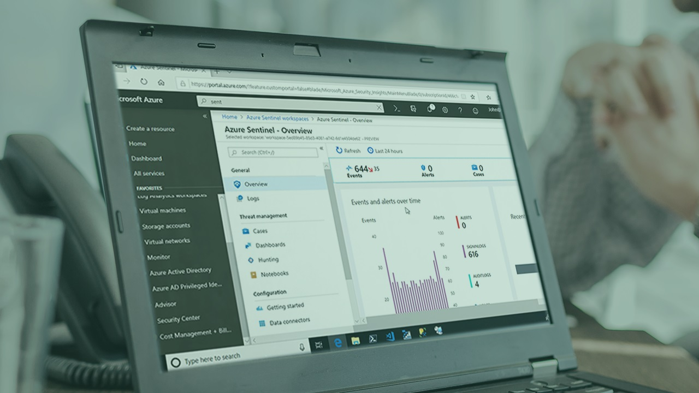 آموزش نظارت بر ذخیره اطلاعات Microsoft Azure
