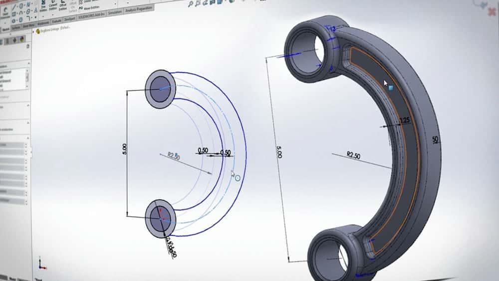 آموزش شبیه سازی SOLIDWORKS - مطالعات طراحی/بهینه سازی