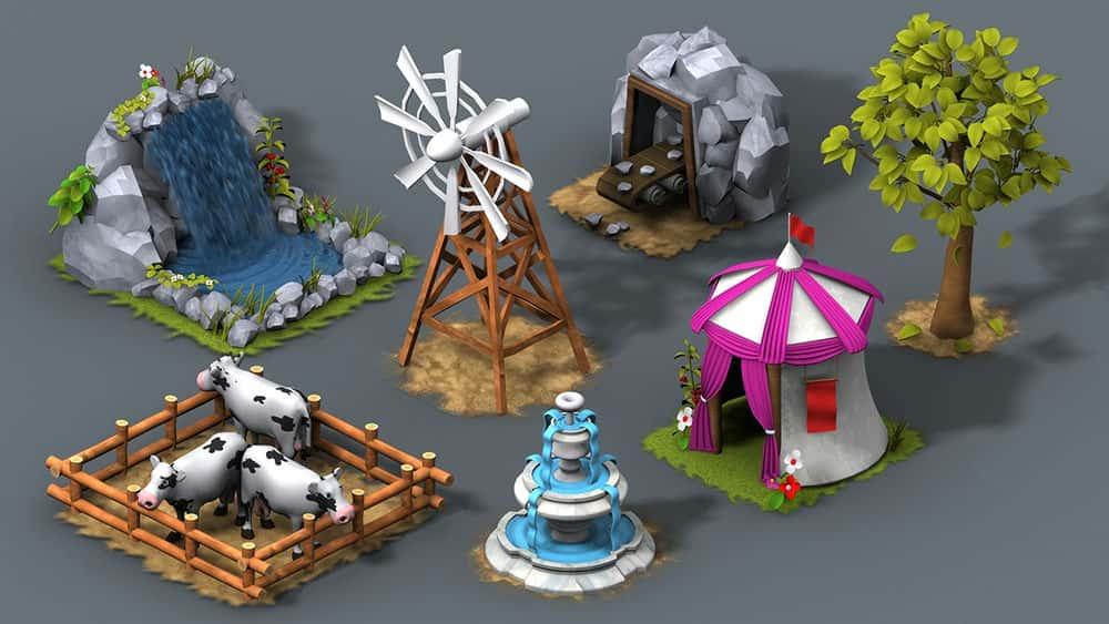 آموزش ایجاد انیمیشن های قابل حل برای بازی ها در 3ds Max و افتر افکت
