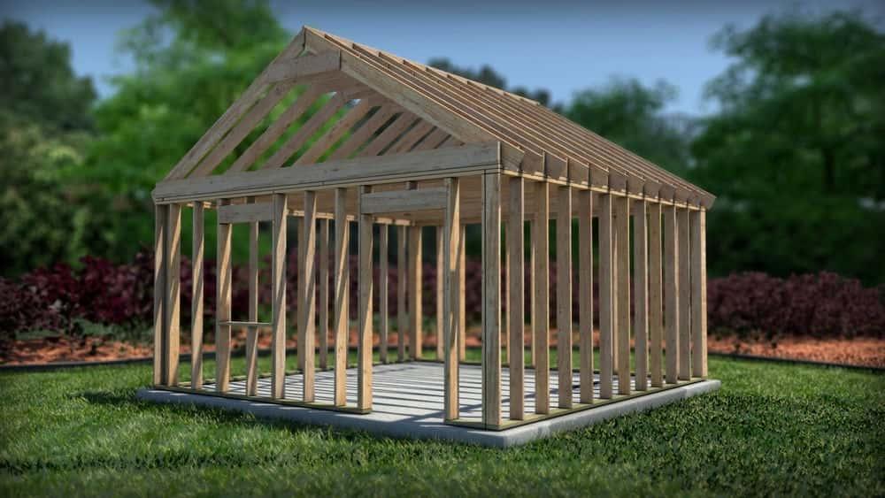آموزش ایجاد یک مدل قاب چوبی در Revit