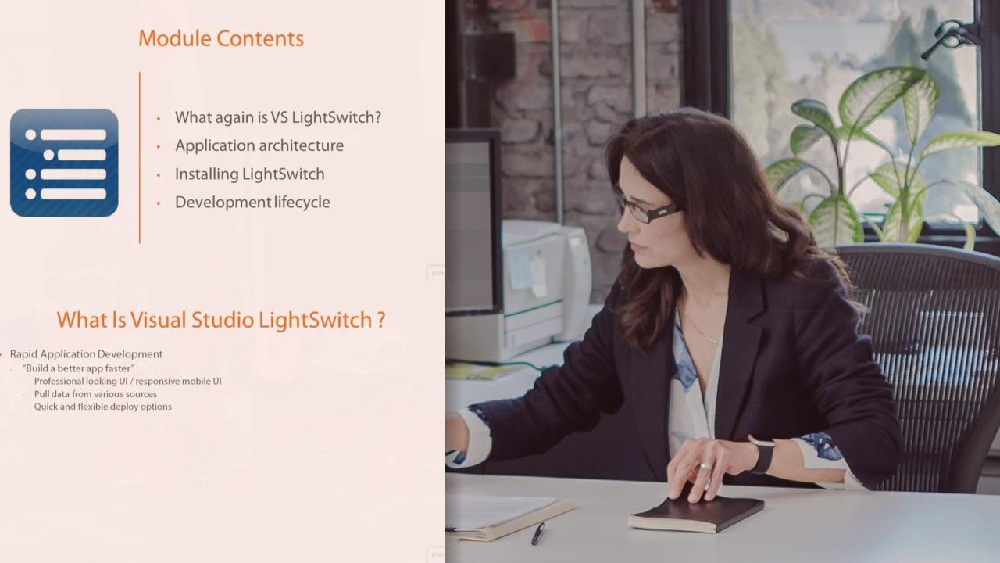 آموزش خط تولید برنامه های تجاری با Visual Studio LightSwitch 2015