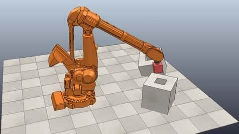 آموزش رباتیک با V-REP/CoppeliaSim