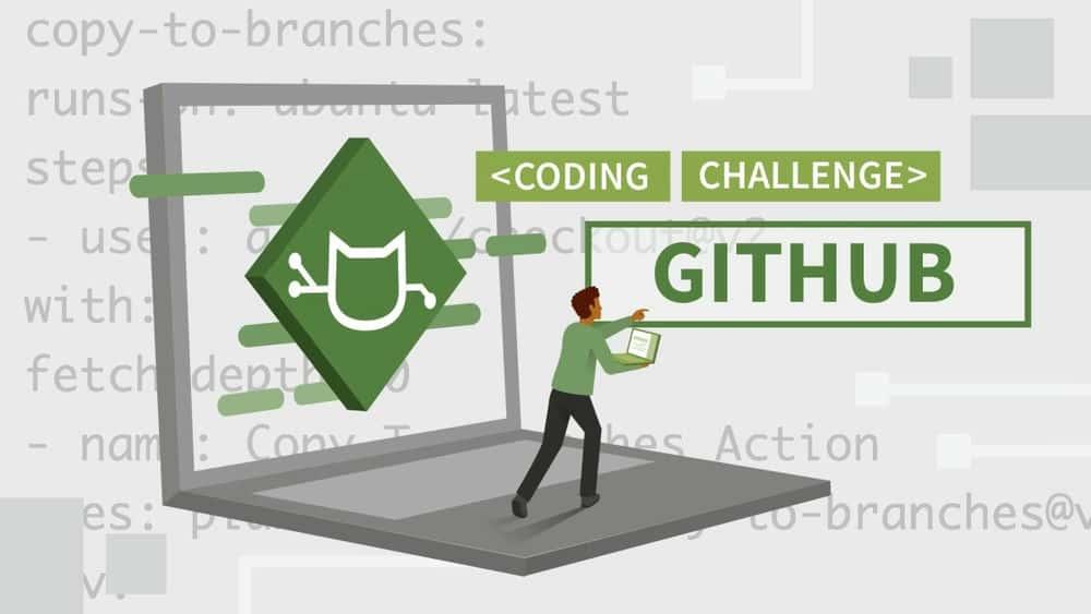 آموزش چالش های کد GitHub