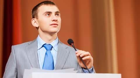 آموزش سخنرانی در جمع: یک سخنران حرفه ای باشید