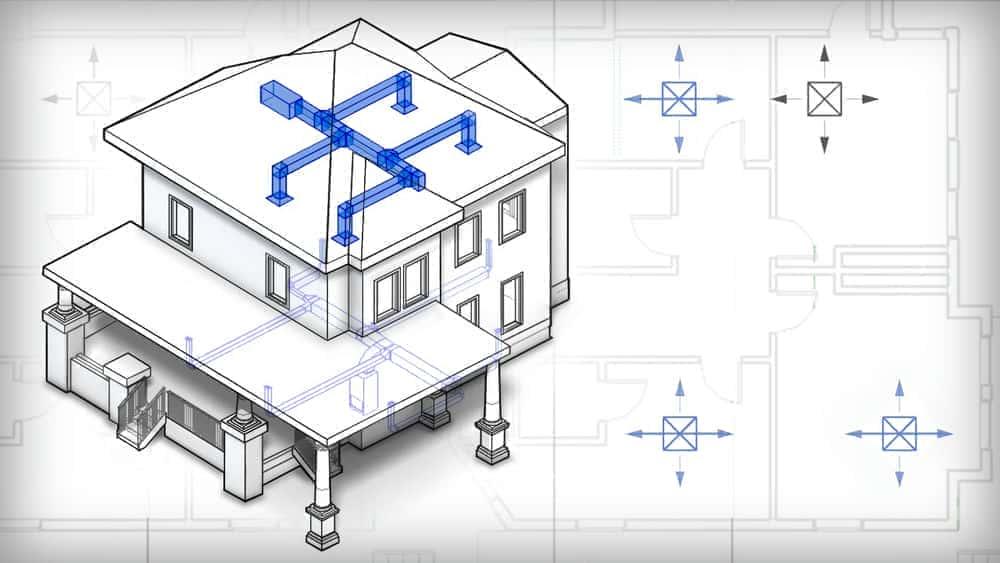 آموزش مقدمه ای بر طراحی HVAC در Revit MEP