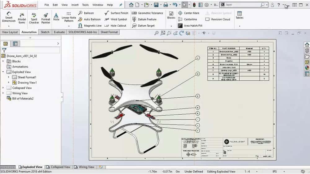 آموزش محصولات مصرفی SOLIDWORKS: طراحی الکترو مکانیکی