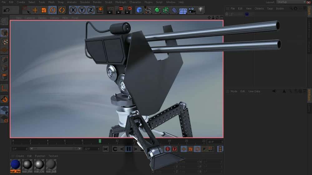 آموزش شروع سریع انیمیشن در CINEMA 4D: جلد 3