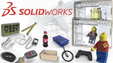 آموزش Master Solidworks 2021 - 3D CAD با استفاده از نمونه های واقعی
