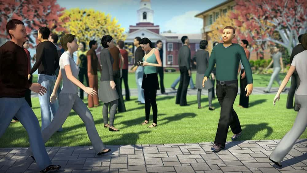 آموزش ایجاد جمعیت با جمعیت در 3ds Max