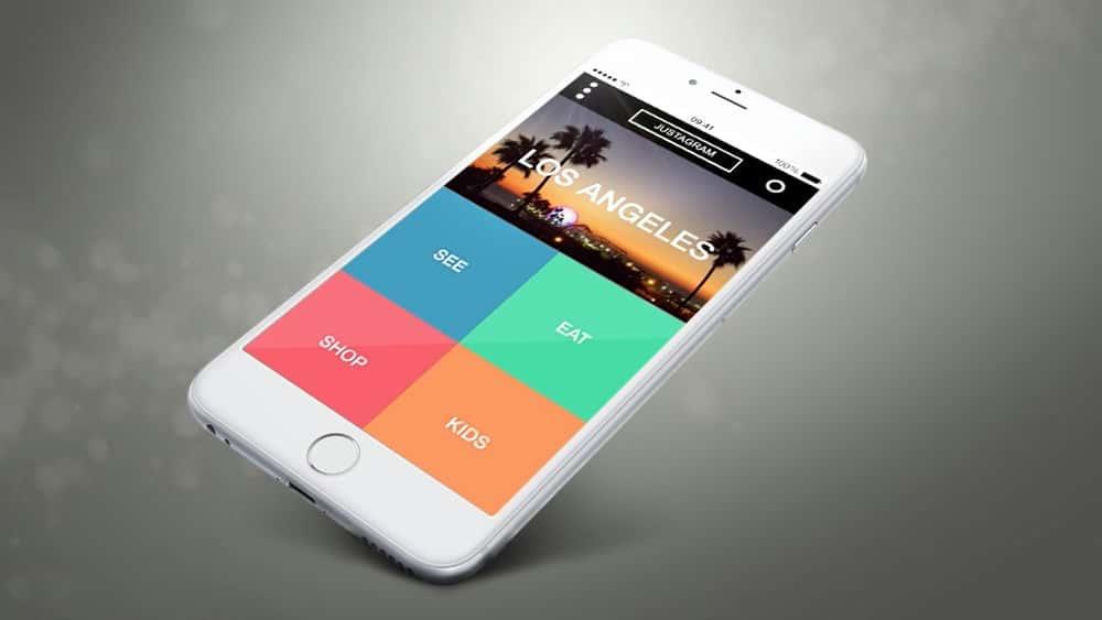 آموزش طراحی یک برنامه iPhone در Axure