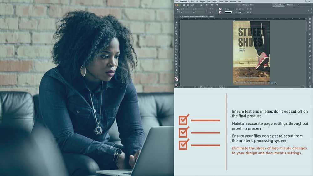 آموزش تولید چاپ InDesign CC