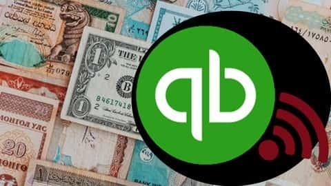 آموزش QuickBooks چند ارز آنلاین