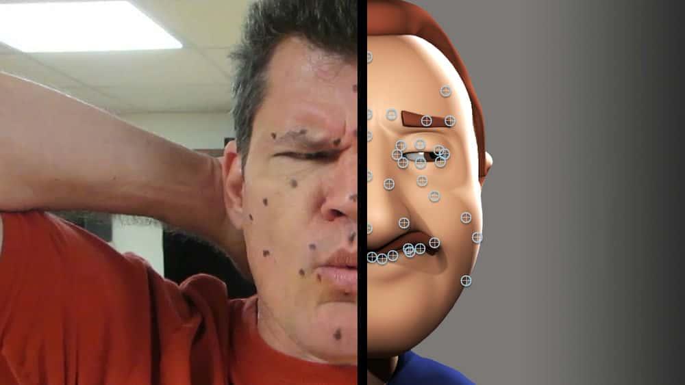 آموزش ایجاد سفارشی حرکت صورت در مایا