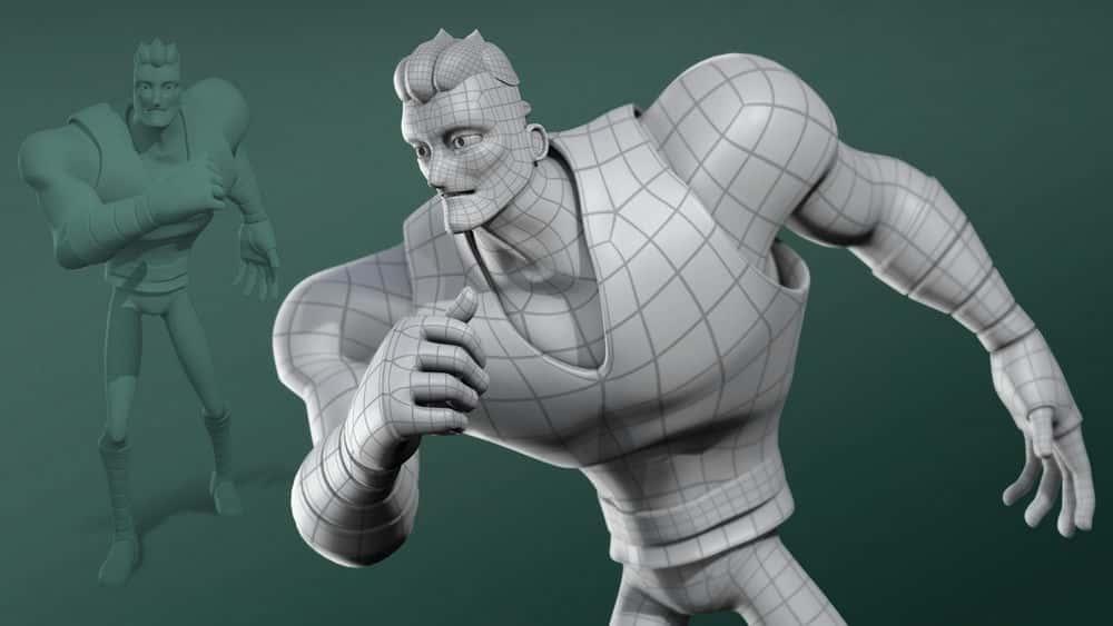 آموزش مفاهیم مدل سازی کاراکتر در 3ds Max