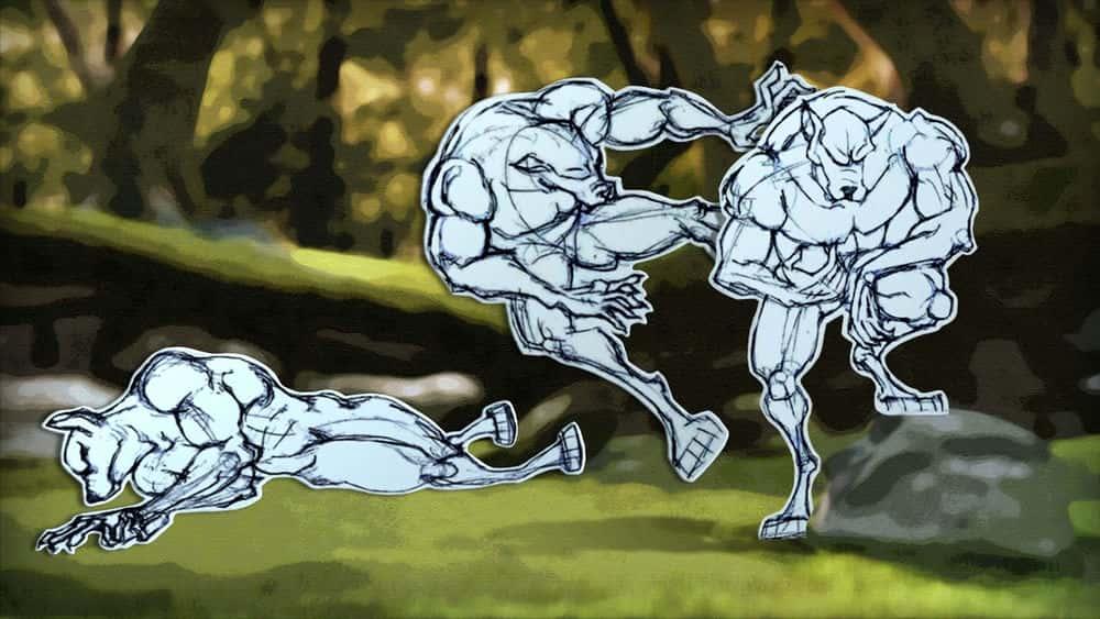 آموزش تکنیک های مسدود کردن انیمیشن در مایا