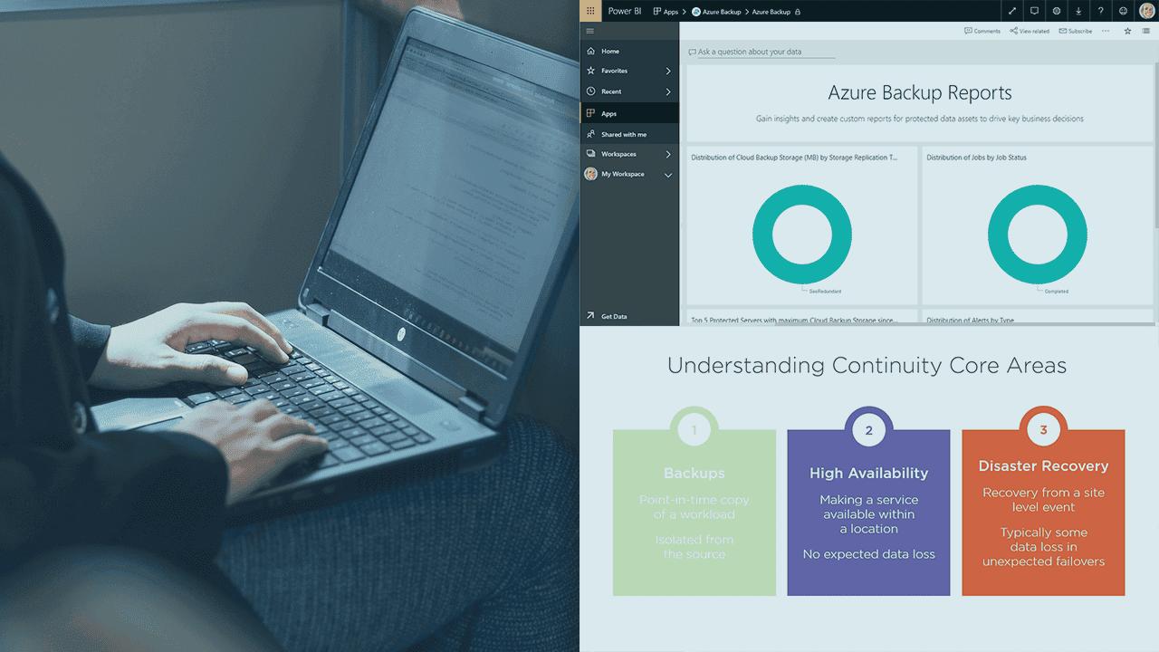 آموزش پیاده سازی تداوم و در دسترس بودن داده ها در Microsoft Azure