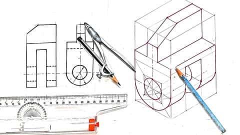 نقشه کشی مهندسی/گرافیک: آموزش عملی