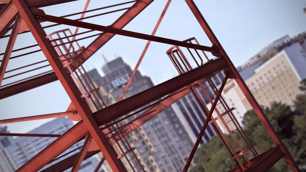 آموزش مدل سازی ساختار فولادی در Revit