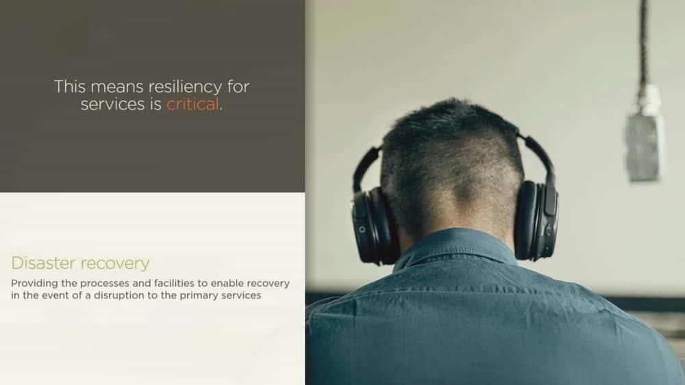 آموزش ارائه خدمات بازیابی فاجعه با خدمات Azure