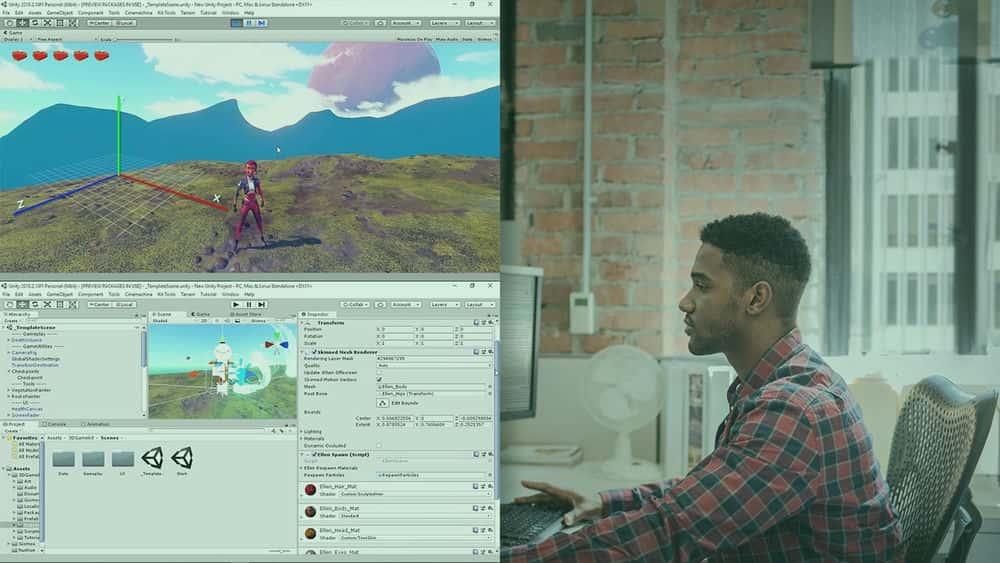 آموزش تصویر بزرگ: Unity VR Development