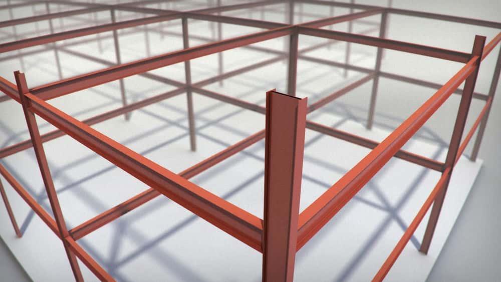 آموزش ایجاد یک مدل ساختاری سه بعدی در اتوکد