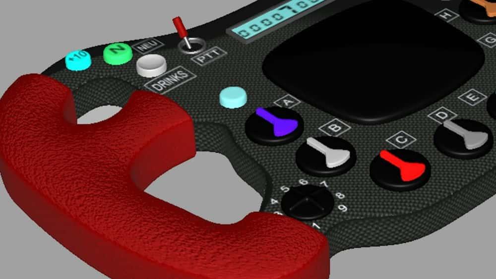 آموزش مدل سازی چرخ F1 با Autodesk Alias Subdivision