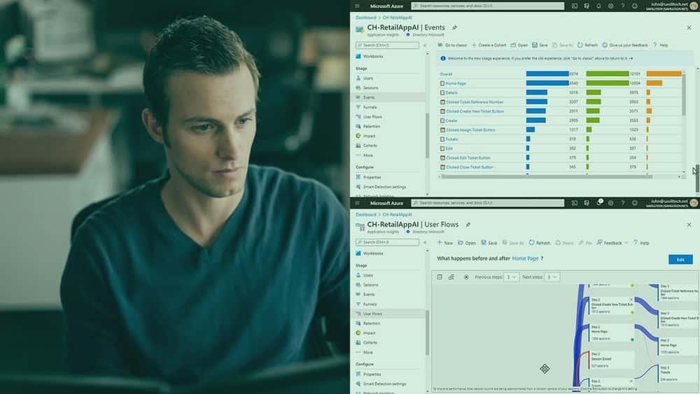 آموزش راه حل های Microsoft DevOps: طراحی و اجرای تله متری