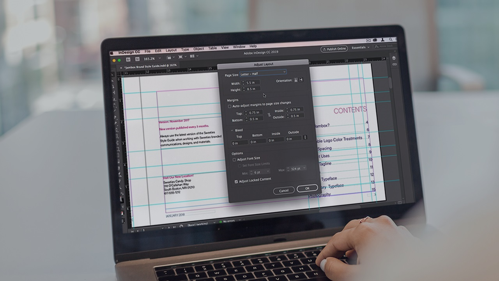 آموزش ویژگی های جدید InDesign CC 2019